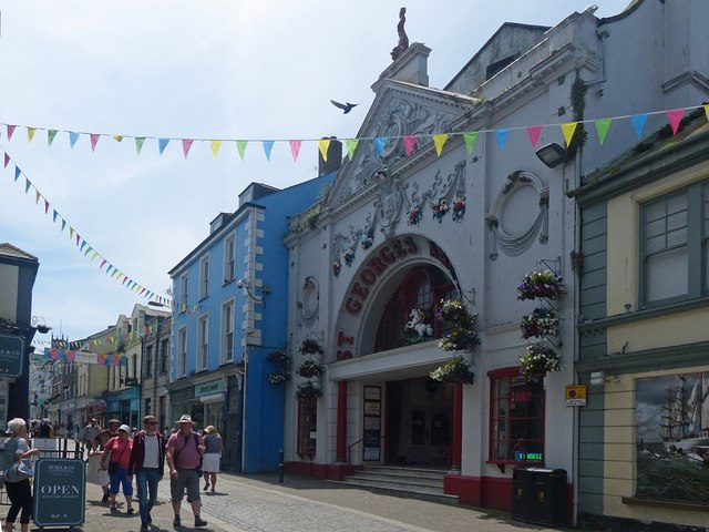 St Georges Arcade, Falmouth