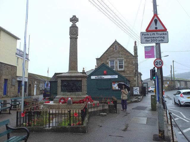 War Memorial, The Strand, Newlyn