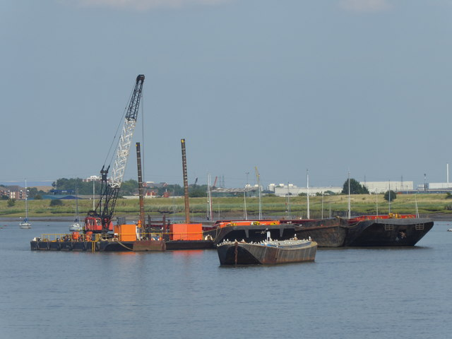 View from Erith Pier