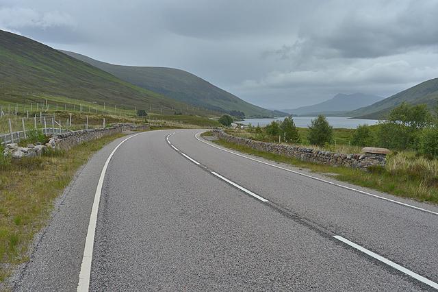 The A832 near Lubmore