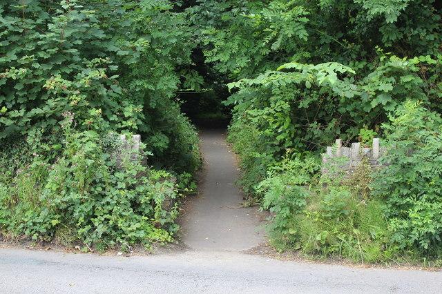 Sirhowy Valley Walk path