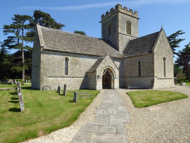 Meysey Hampton church