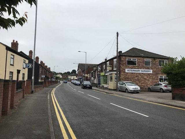 Congleton Road, Butt Lane
