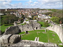 SK5198 : Conisbrough from Conisbrough Castle by Bob Pearce