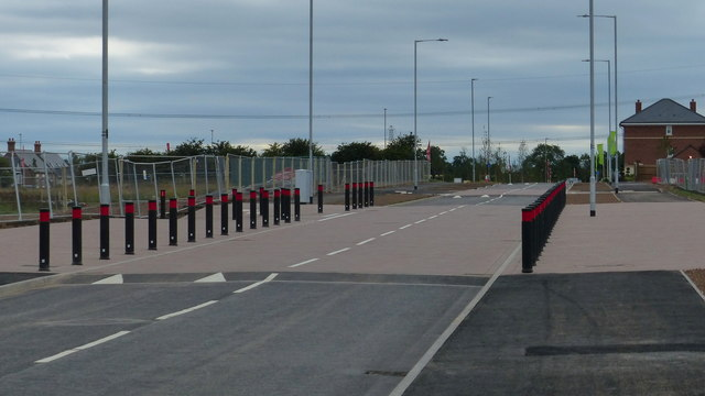 Tay Road at New Lubbesthorpe