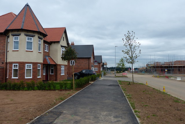 Tweed Street at Hereswode, New Lubbesthorpe