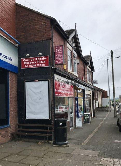 Shops on Congleton Road, Butt Lane