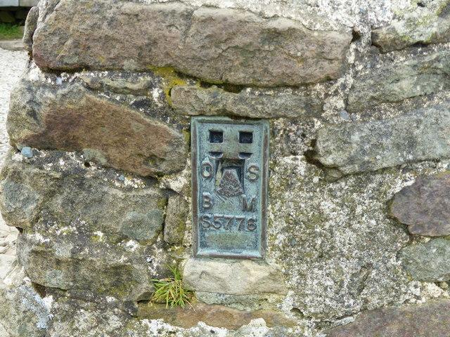 Flush Bracket, Pen-y-ghent Triangulation Pillar