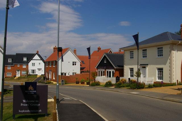 Prior's Grange development, Saxmundham