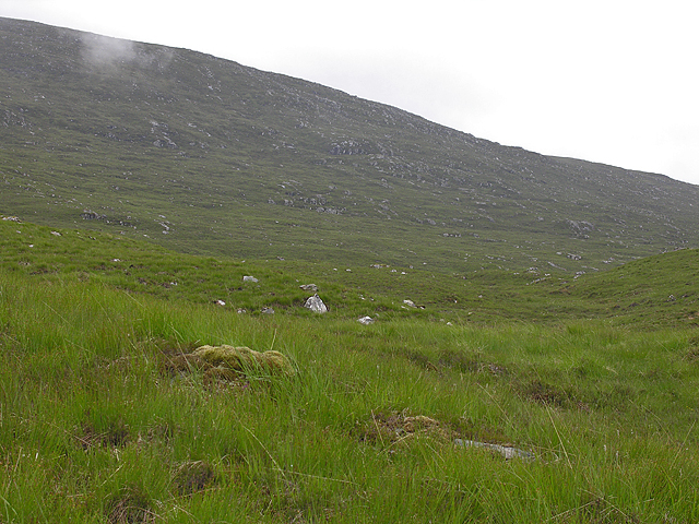 Northern slopes of Beinn Liath Bheag
