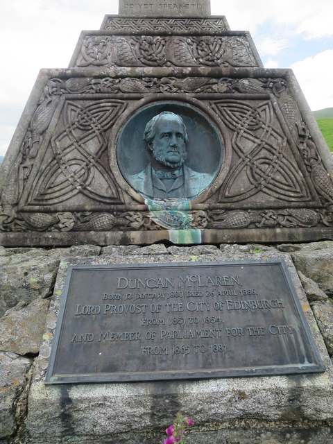Monument to Duncan McLaren