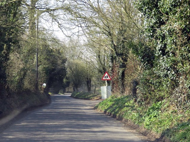 The road through Stoke Charity