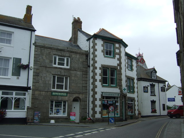 Shops on Market Place, Marazion