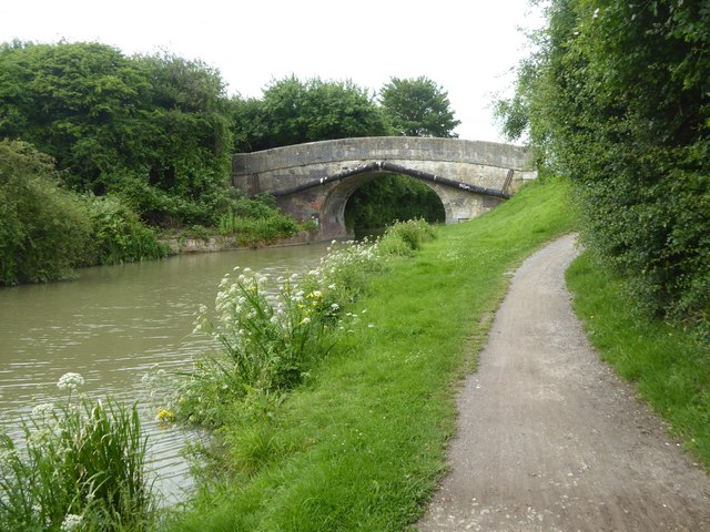 Footbridge over canal, Hilperton