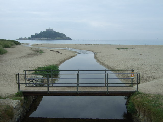Foot bridge over Red River, Marazion