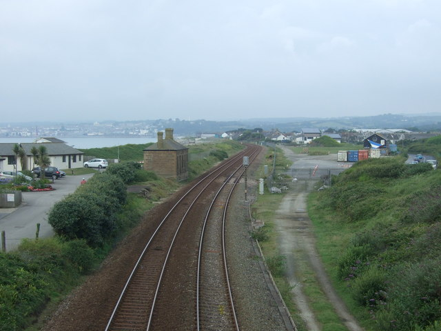 Site of the former Marazion Railway Station