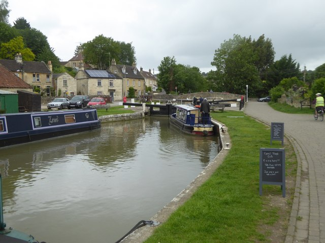 Canal basin, Bradford-on-Avon
