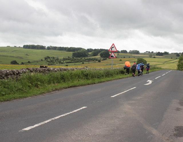 Walkers Approaching Monyash