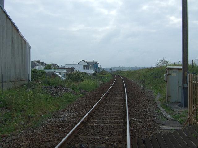 Railway towards London