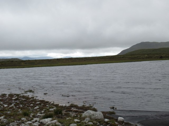 Lochan on high ground north of upper Speyside