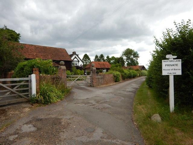 Mimbridge - House on Trotters Lane