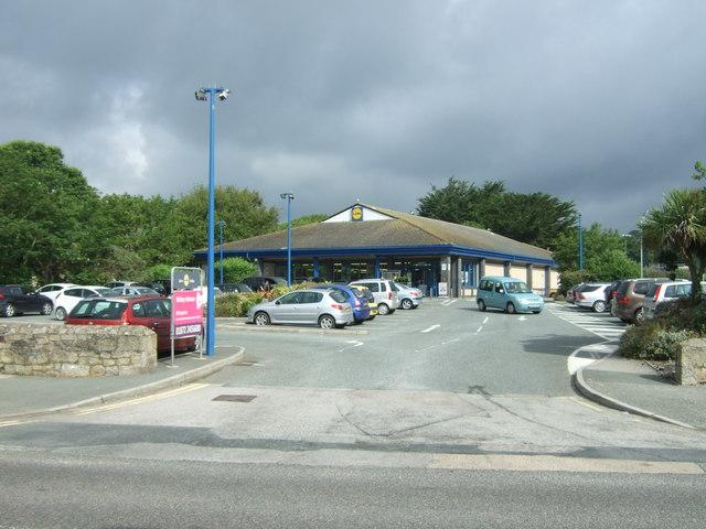 Lidl Supermarket, Penzance
