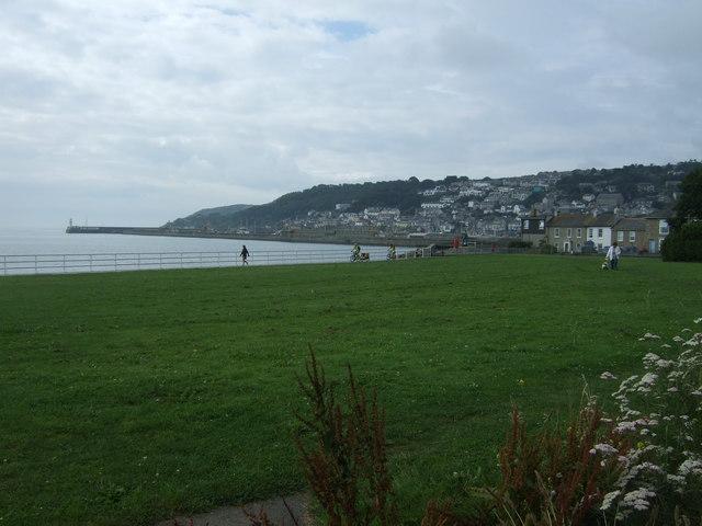 Coastal green near Newlyn