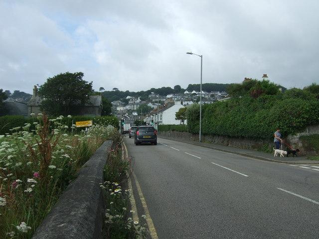 New Road towards Newlyn