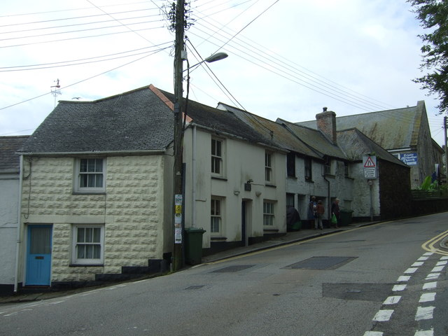 Houses on Chywoone Hill, Newlyn