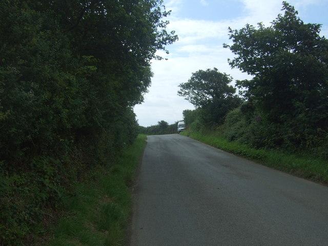 Minor road towards Paul