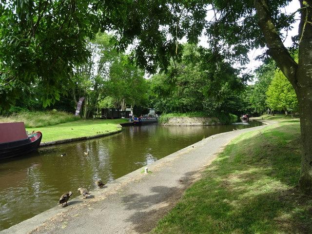 Canal Basin at Trevor