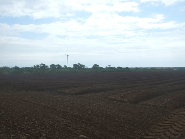 Ploughed field, Four Lanes End