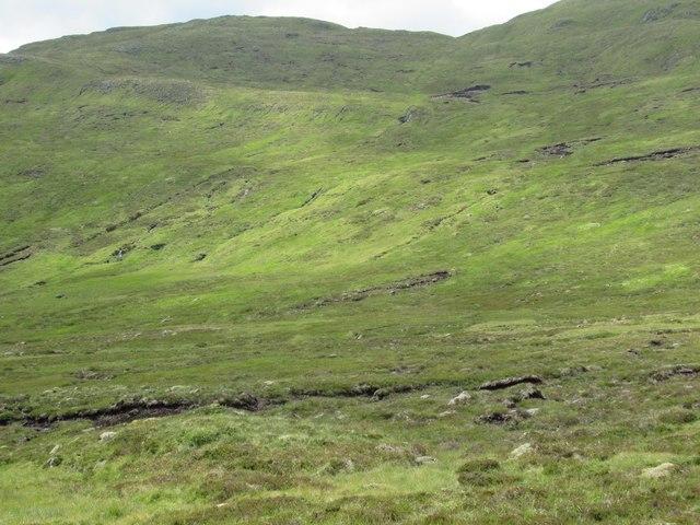 The back door to Gairbeinn above upper Speyside