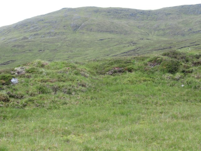 View west from Allt Luaidhe in Garbh Choire of Gairbeinn