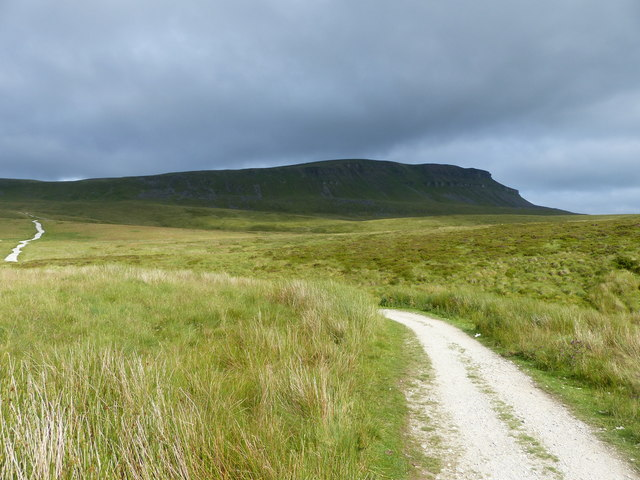 The Pennine Way and Pen-y-ghent