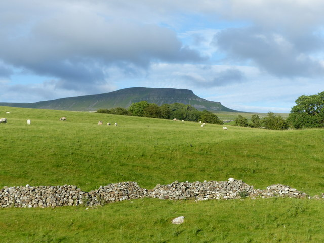 View of Pen-y-ghent