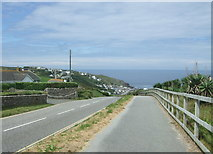 SW3526 : Steep road down to Sennen Cove by JThomas