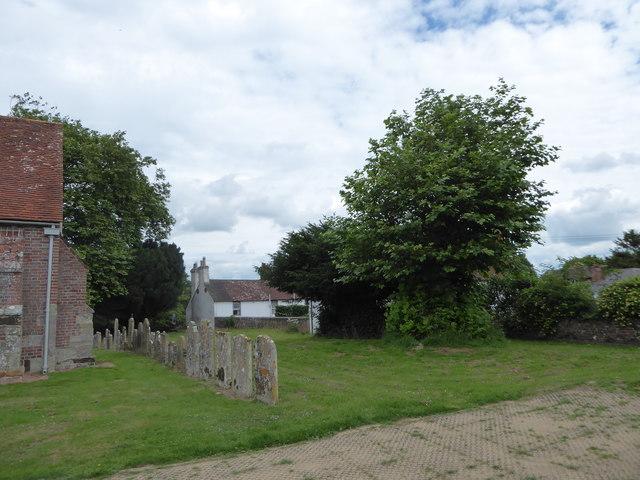 St Mary Magdalene, Wartling: churchyard (1)
