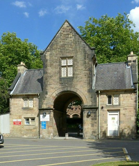 Babington Hospital, the gatehouse