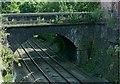 SK3447 : New Road railway bridge, Belper by Alan Murray-Rust