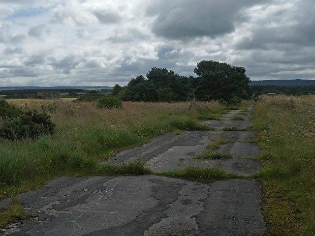 Perimeter track, RAF Dallachy, Moray