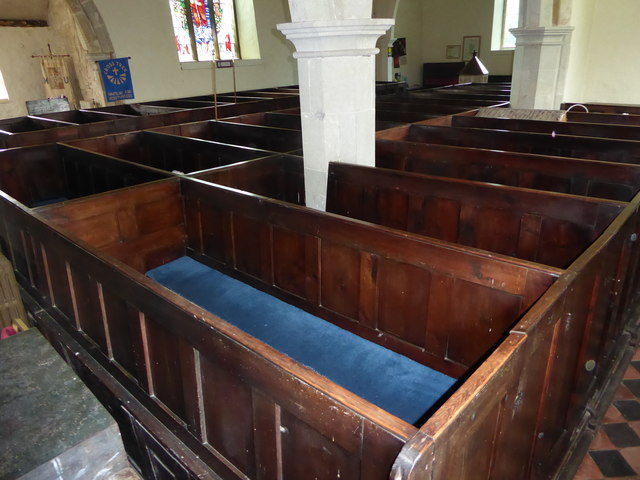 Inside St Mary Magdalene, Wartling (v)