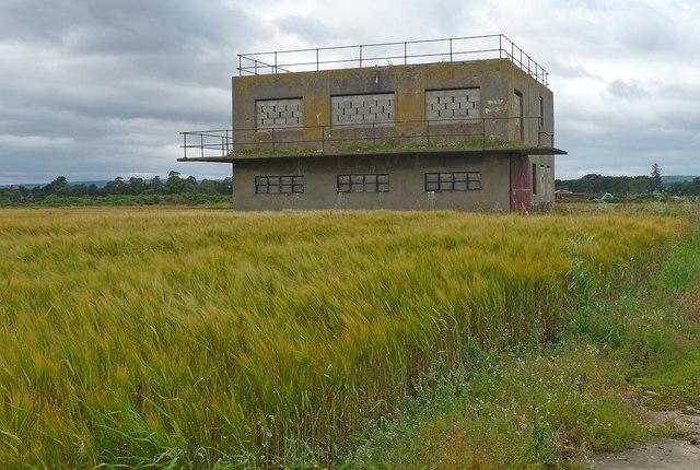 Control tower, RAF Dallachy, Moray