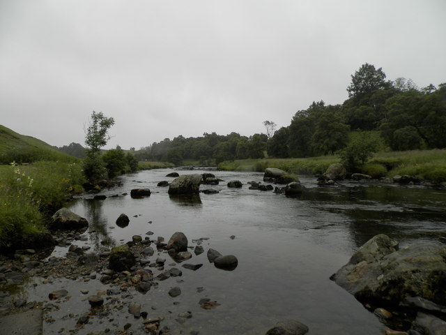 The South Esk at Gella
