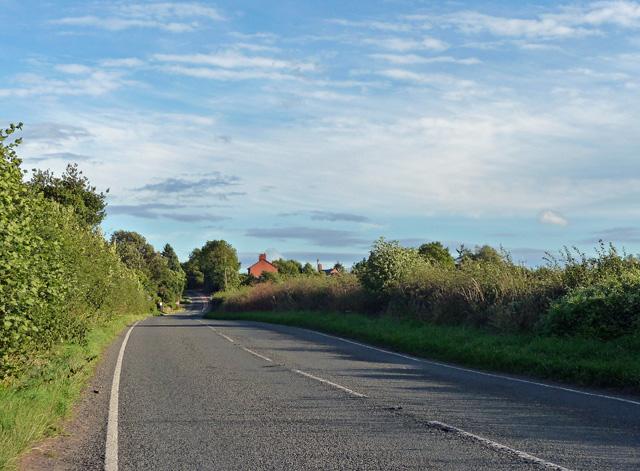 Main road near Bush Bank