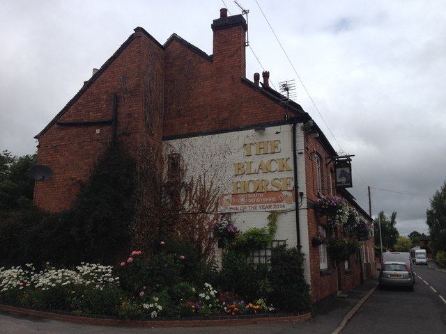 The Black Horse, Coton in The Elms