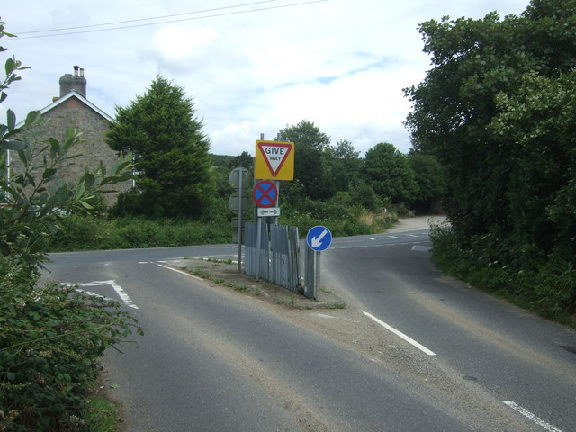 B3283 junction with the A30, Catchall