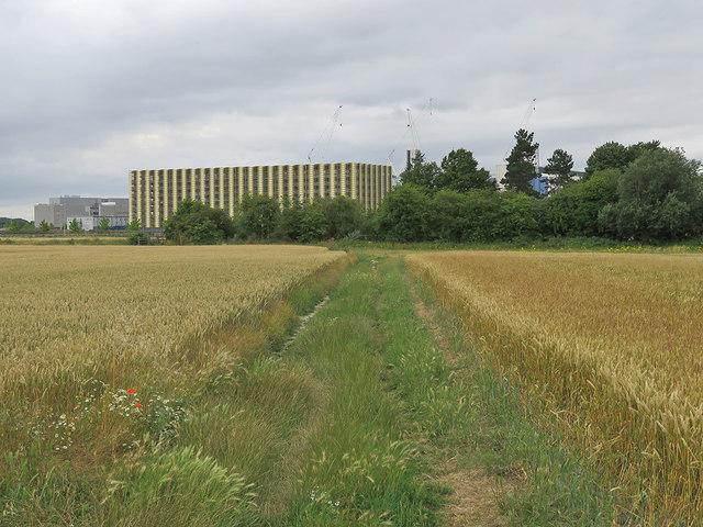 Nearing Addenbrooke's Hospital