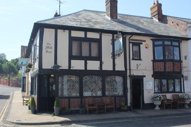The Mill Inn, Market Cross Place, Aldeburgh