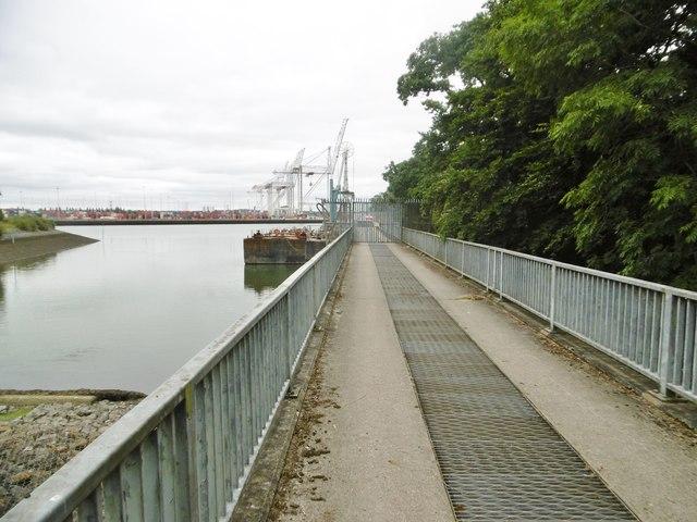 Marchwood, bridge